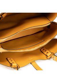 Żółta torebka klasyczna Puccini klasyczna #5