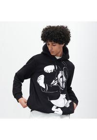 Reserved - Bluza z Kaczorem Donaldem - Czarny. Kolor: czarny. Wzór: motyw z bajki