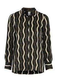 Soyaconcept Bluzka Carol Czarny we wzory female czarny/ze wzorem M (40). Kolor: czarny. Materiał: tkanina, satyna. Styl: klasyczny, elegancki #1
