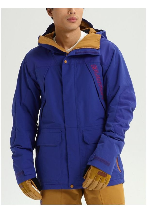 Burton Kurtka snowboardowa Breach 10180106400 Granatowy Regular Fit. Kolor: niebieski. Sport: snowboard