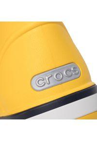 Żółte kalosze Crocs z cholewką, klasyczne