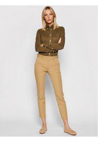Polo Ralph Lauren Koszula 211664427008 Zielony Regular Fit. Typ kołnierza: polo. Kolor: zielony