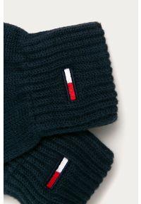 Niebieskie rękawiczki Tommy Jeans