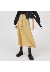 Żółta spódnica Sinsay #1