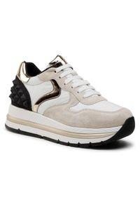 Beżowe buty sportowe Voile Blanche