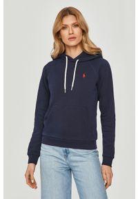 Niebieska bluza Polo Ralph Lauren długa, na co dzień, casualowa