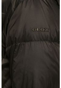 Czarna kurtka Geox z kapturem