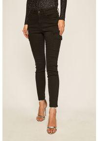 Czarne spodnie materiałowe Noisy may