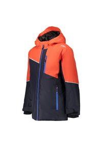 Kurtka narciarska dla dzieci CMP Brocon 39W1884. Materiał: jersey, materiał, tkanina, syntetyk, poliester. Sezon: zima. Sport: narciarstwo