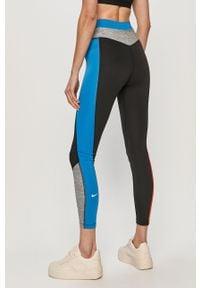 Nike - Legginsy. Kolor: wielokolorowy. Materiał: dzianina, materiał, skóra, poliester, elastan, tkanina, włókno #3