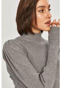 Szary sweter Answear Lab wakacyjny, z długim rękawem, gładki, na co dzień