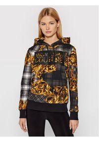 Versace Jeans Couture Bluza 71HAI3A8 Czarny Regular Fit. Typ kołnierza: kołnierzyk włoski. Kolor: czarny