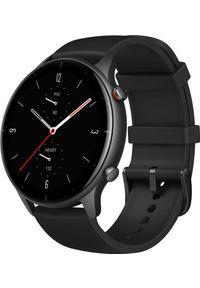 AMAZFIT - Smartwatch Amazfit GTR 2E Czarny (ZEG-SMW-0079). Rodzaj zegarka: smartwatch. Kolor: czarny