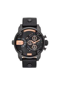 Czarny zegarek Diesel