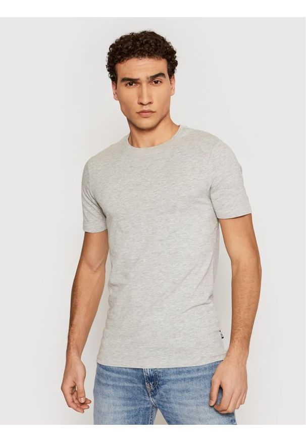 Only & Sons - ONLY & SONS T-Shirt Basic 22020798 Szary Slim Fit. Kolor: szary