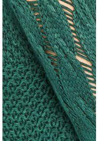 Zielony sweter Answear Lab wakacyjny, raglanowy rękaw