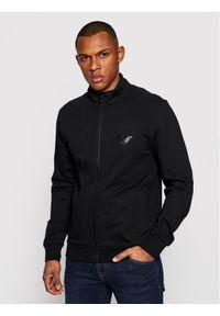 Emporio Armani Underwear Bluza 111532 1P571 00020 Czarny Regular Fit. Kolor: czarny