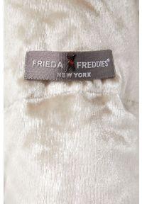 Frieda & Freddies - Kurtka. Okazja: na co dzień. Kolor: złoty. Materiał: materiał. Styl: casual