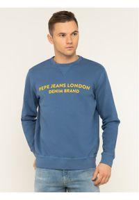 Pepe Jeans Bluza Avalon PM581719 Granatowy Regular Fit. Kolor: niebieski