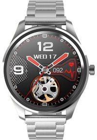 Szary zegarek Gino Rossi smartwatch