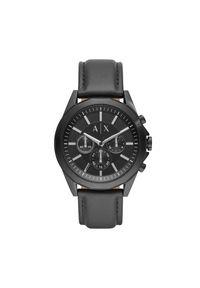 Czarny zegarek Armani Exchange