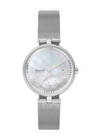Skagen - Zegarek SKW2979. Kolor: srebrny. Materiał: materiał