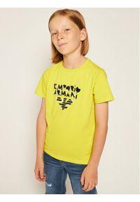 T-shirt Emporio Armani w kolorowe wzory