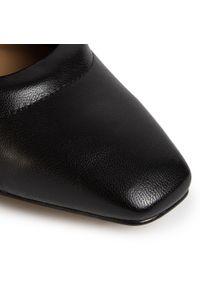 Czarne sandały Eva Minge na co dzień, casualowe