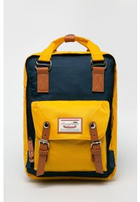 Żółty plecak Doughnut gładki
