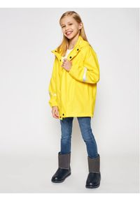 Reima Kurtka przeciwdeszczowa 521491 Żółty Regular Fit. Kolor: żółty