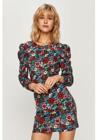 Wielokolorowa sukienka Pepe Jeans na co dzień, w kwiaty