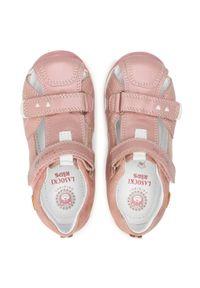 Różowe sandały Lasocki Kids na lato, klasyczne