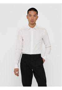 Only & Sons - ONLY & SONS Koszula Bart Life 22017573 Biały Slim Fit. Kolor: biały