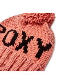 Roxy - Czapka ROXY - ERJHA03718 MKP0. Kolor: różowy. Materiał: materiał, akryl