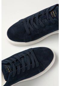 Niebieskie sneakersy GANT z okrągłym noskiem, z cholewką #5
