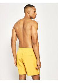 Żółte spodenki sportowe New Balance