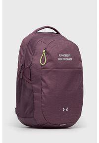 Under Armour - Plecak. Kolor: fioletowy