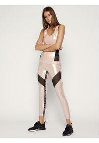 Różowe legginsy Liu Jo Sport sportowe