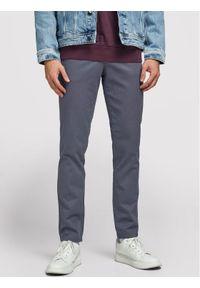 Jack & Jones - Jack&Jones Spodnie materiałowe Jjimarco Jjbowie 12176042 Szary Slim Fit. Kolor: szary. Materiał: materiał