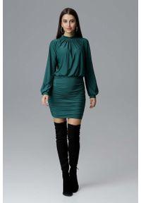 Zielona sukienka Figl wizytowa