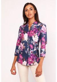 Koszula Lanti elegancka, w kwiaty