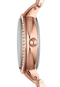 Fossil - Zegarek ES3284. Kolor: różowy. Materiał: materiał