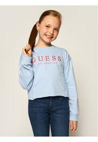 Niebieska bluzka Guess