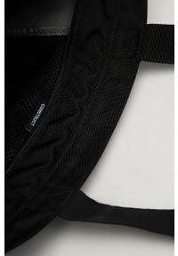 Czarna torba Vans casualowa, gładkie