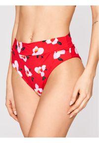 Czerwone dół bikini Banana Moon