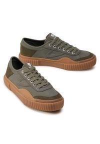 Zielone sneakersy Tretorn z cholewką