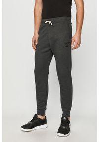 Szare spodnie dresowe Reebok melanż