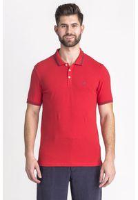 Koszulka polo Emporio Armani sportowa, z nadrukiem, polo