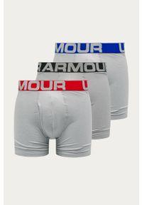 Szare majtki Under Armour z nadrukiem