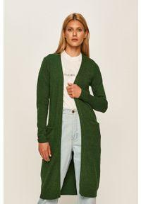 Zielony sweter rozpinany Vila